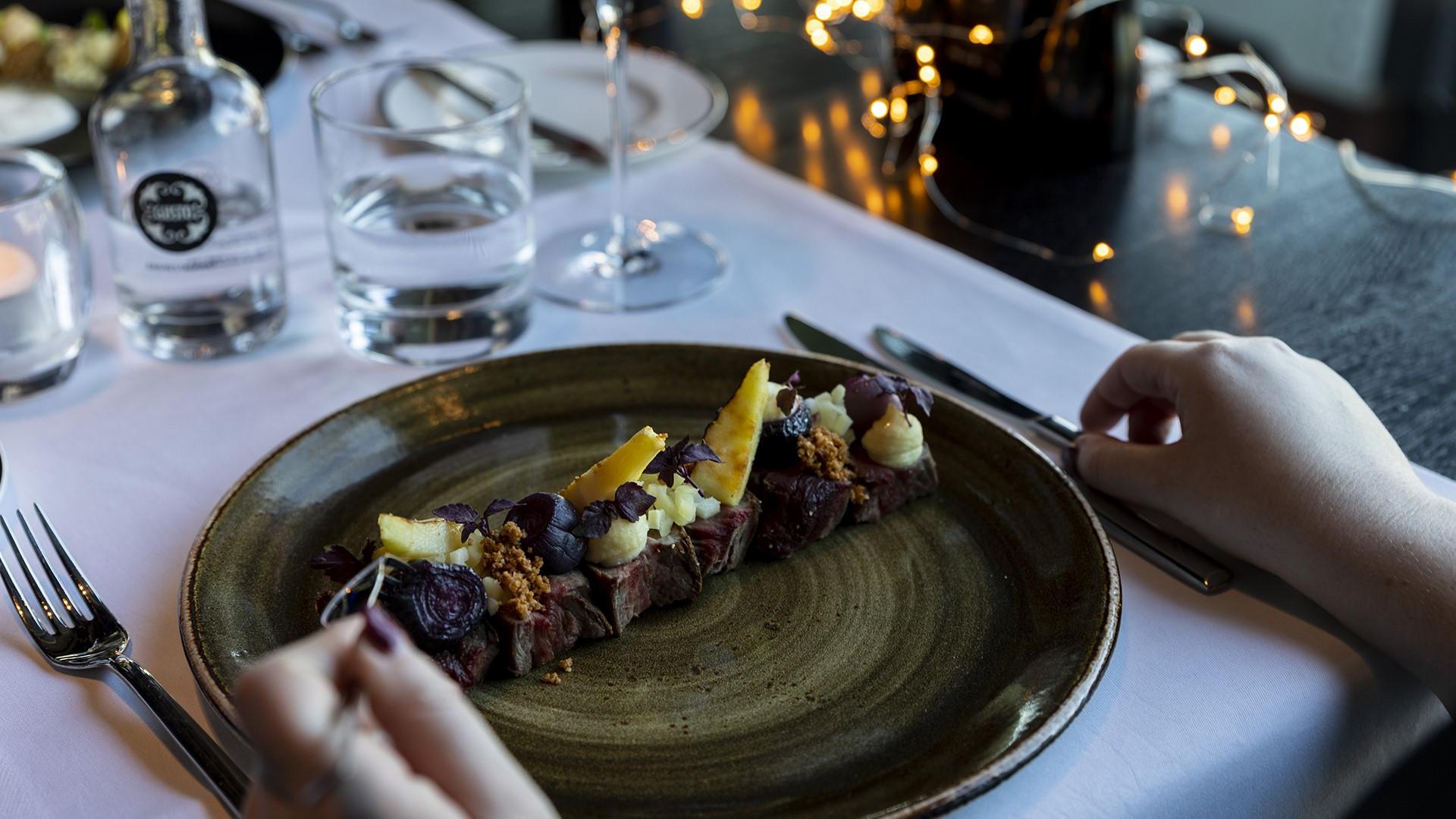 Hotel ECU - Culinair arrangement